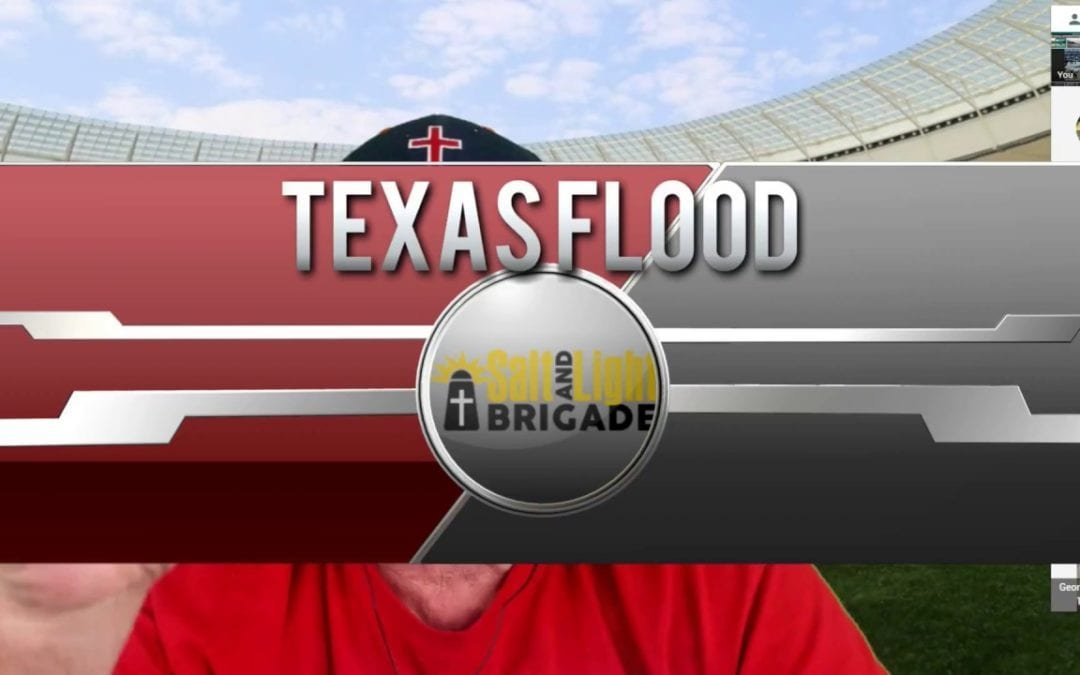 Going to Texas and Helping Flood Victims
