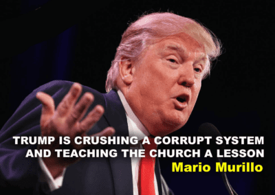 Trump is crushing a corrupt system and teaching Christian leaders a lesson