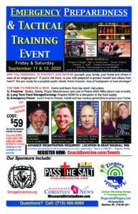 Emergency Preparedness & Tactical Training Event *SOLD OUT* @ Wisconsin