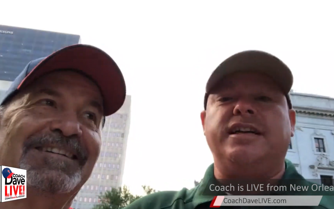 Coach Dave LIVE | 6-7-2021 | LIVE FROM NEW ORLEANS DAY 1!
