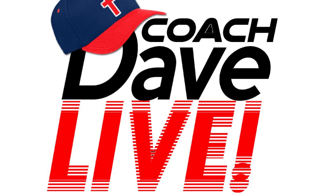 Coach Dave LIVE | 8-27-2021 | Flea Flicker Friday