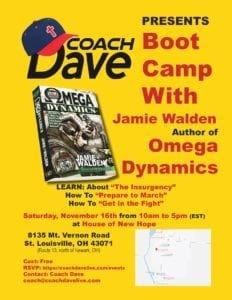 Boot Camp with Coach @ Ohio   Saint Louisville   Ohio   United States