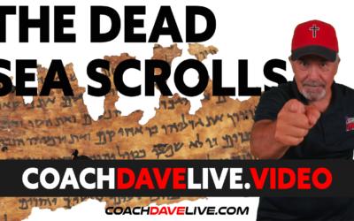 Coach Dave LIVE   7-26-2021   THE DEAD SEA