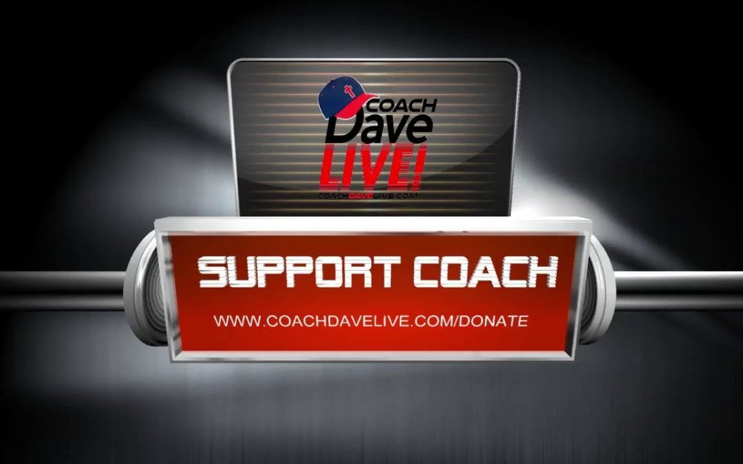 I Can Feel it in the Air | Coach Dave Live | 12-30-19